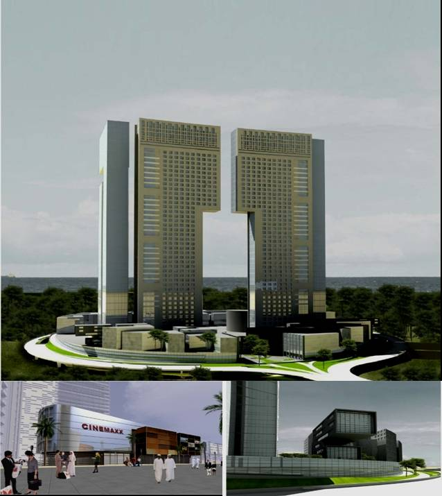High rise buildings architectural design engineering for Concept building